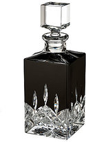 Waterford Lismore Black Crystal Square Decanter