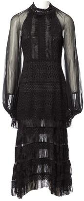 Jonathan Simkhai Black Silk Dresses