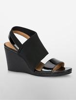 Calvin Klein Bry Neoprene Wedge Sandal
