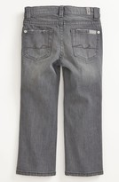 7 For All Mankind 'Standard' Straight Leg Jeans (Toddler Boys)