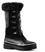 Lands' End Women's Alpine Snow Boots-Brown