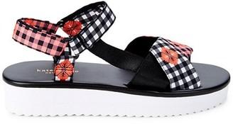 Kate Spade Dotty Ankle-Strap Platform Sandals