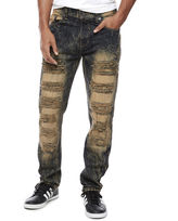 Southpole South Pole Ripped and Washed Denim Jean