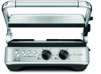 Breville Sear & Press Grill 42 x 26 x 39.4cm Brushed Stainless Steel