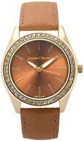 Journee Collection Womens Crystal-Accent Watch