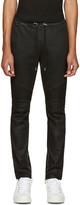 Balmain Black Biker Lounge Pants