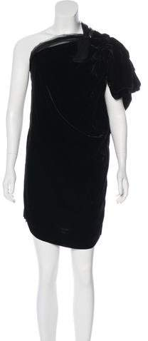 Lanvin Sleeveless Velvet Dress w/ Tags