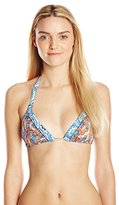 Maaji Women's Tassels and Tiles Bikini Top with Soft Cups