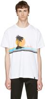 Rag & Bone White 'New York' Vacation T-Shirt