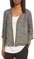 Eileen Fisher Women's Organic Linen Blend Kimono Jacket