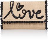 Dolce & Gabbana Raffia Wallet On Chain
