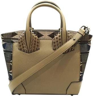 Christian Louboutin Eloise Khaki Leather Handbags