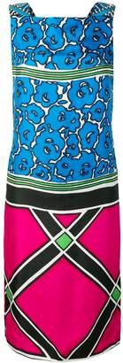 Kenzo Pre-Owned multi-print midi dress