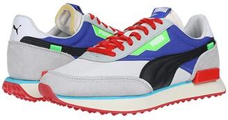 Puma Future Rider White/High-Rise/Dazzling Blue) Men's Shoes
