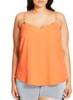 City Chic Luxe Detail Camisole Top