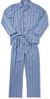 Derek Rose Mayfair 69 Blue Men'S Ew Pyjama Set