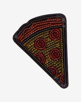 Express idecoz pizza sequin sticker patch
