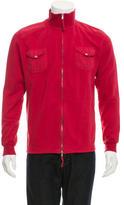 Michael Bastian Lightweight Rib Knit-Trimmed Jacket w/ Tags