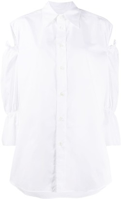 Vivienne Westwood Oversized Cut-Out Shirt