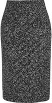 Michael Kors Wool-blend bouclé pencil skirt