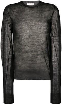 Jil Sander Sheer Knitted Top