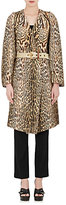 Chloé WOMEN'S LEOPARD-PRINT COTTON-BLEND OVERSIZED COAT
