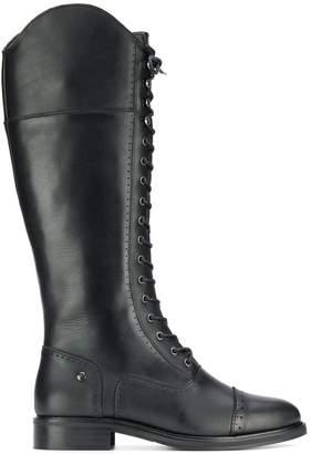 Trussardi Jeans Lace-Up Boots