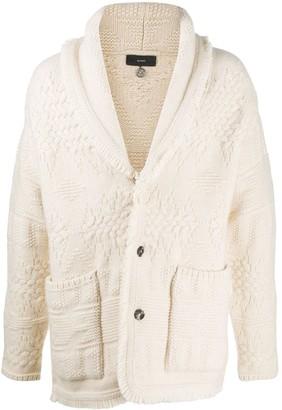 Alanui Stitches knitted cardigan
