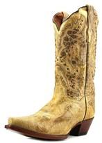 Dan Post Kiki Square Toe Leather Western Boot.