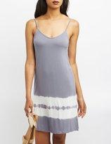 Charlotte Russe Tie Dye Shift Dress