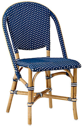 Sofie Bistro Side Chair - Navy - Sika Design