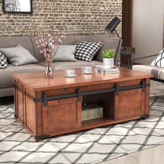 Harper & Bright Designs Harper&Bright Designs Living Room Solid Wood Coffee Table