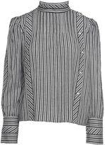 Etoile Isabel Marant Oak Striped-cotton Shirt