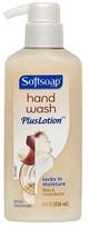 Softsoap Shea & Cocoa Butter Hand Wash Plus Lotion Pump - 8oz