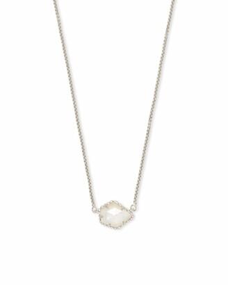 Kendra Scott Tess Silver Pendant Necklace