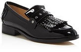 Botkier Women's Victoria Studded Patent Leather Kiltie Fringe Loafers - 100% Exclusive