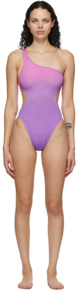 BOUND by Bond-Eye Purple and Pink The Milan One-Piece Swimsuit