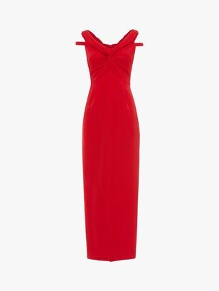 Phase Eight Marcelina Maxi Dress, Carmine