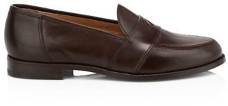 Paul Stuart Lee Leather Penny Loafers