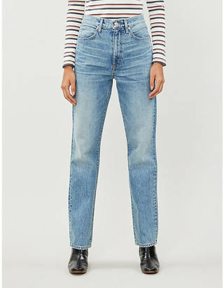 SLVRLAKE London straight high-rise jeans