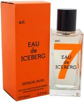Iceberg Eau De Sensual Musk By Edt Spray 3.4 Oz