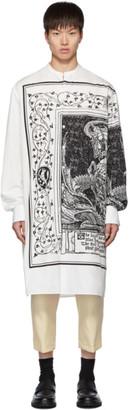 Lanvin White Printed Shirt