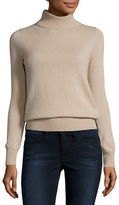 Neiman Marcus Classic Long-Sleeve Cashmere Turtleneck