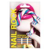 Rock Beauty Nail Rock Wraps Colour Stripes 1 Kit