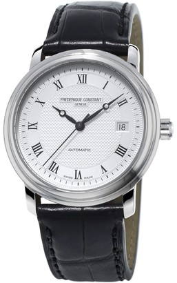 Frederique Constant Fred Erique Constant Men's Automatic Watch Analogue XL Leather FC 303MC4P5