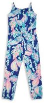 Lilly Pulitzer Girl's Mini Melba Jumpsuit