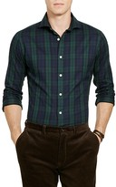 Polo Ralph Lauren Plaid Twill Classic Fit Button Down Shirt