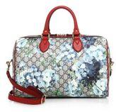Gucci Small GG Blooms Supreme Boston Bag