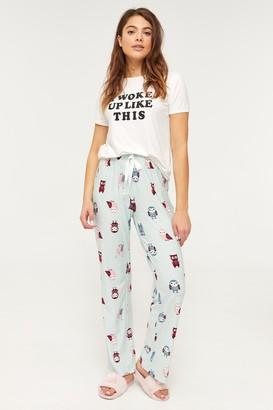 Ardene Super Soft Owl PJ Pants