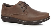 Hush Puppies Brown 'villy Victory' Lace Up Shoes